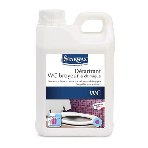Détartrant Pour Wc Broyeurs  Starwax, Produits D