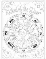 Coloring Shadows Spells Adult Printable Magic Witch Grimoire Shadow Adults Wiccan Colouring Wicca Sheets Magick Astrological Section Known Always Were sketch template