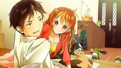 Anime Couple Romance Down Lying Wallpapers Laptop