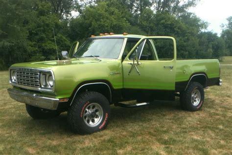 1975 Dodge W200 Power Wagon for Sale