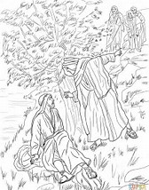 HD Wallpapers Coloring Page Jesus Transfiguration