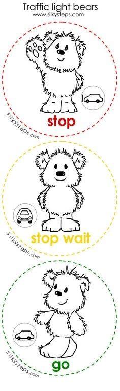 traffic light worksheets 171 preschool and homeschool