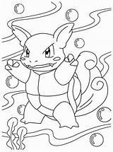 Pokemon Coloring Dragon Electric Popular sketch template