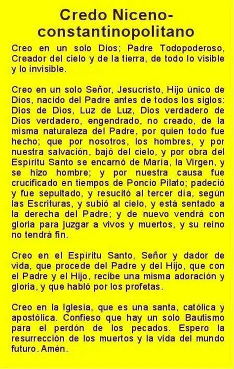 Credo Niceno  Dios Pinterest