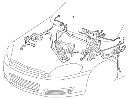 Oem Chevrolet Impala Wiring Harness Parts