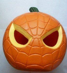 easy spiderman pumpkin pattern     spiderman