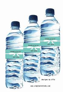 tiffany and company inspired water bottle labels wraps With company water bottle labels