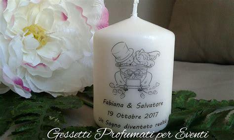 Candele Segnaposto by Candela Segnaposto Wedding Feste Bomboniere Di