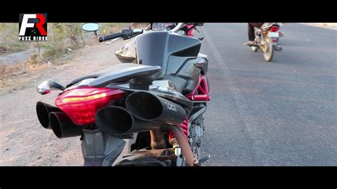Brutal Loud Exhaust Sound! (india's Loudest Motorcycle