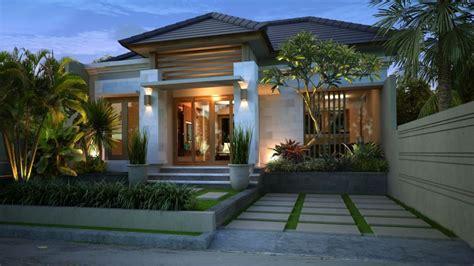 gaya desain rumah bali desainrumahanda eksterior