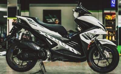 Modifikasi Aerox Warna Putih by 51 Gambar Terbaik Modifikasi Yamaha Aerox 155 Terbaru 2018