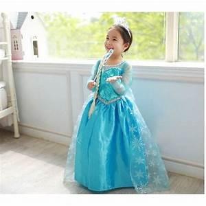 elsa la reine des neiges robe enfant achat et vente With robe de reine des neiges