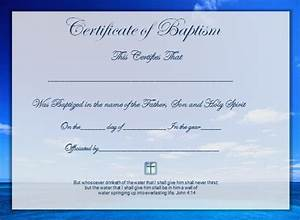 word certificate template 51 free download samples With free water baptism certificate template