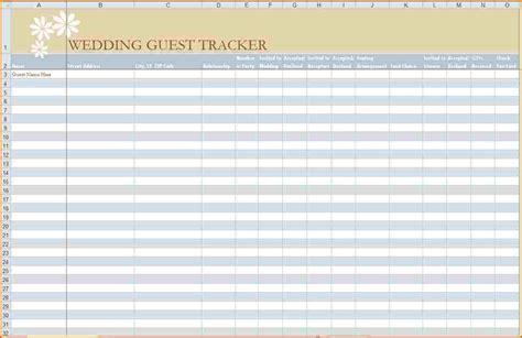 wedding guest list printable authorizationlettersorg
