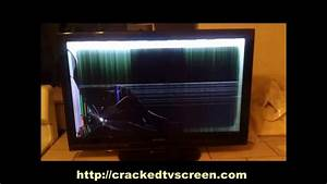cracked tv screen repaird | how to fix a broken tv screen ...