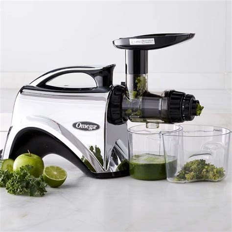 omega juicer nutrition system electric chrome sonoma williams juicers