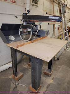 Craftsman Industrial 12 U0026quot  Radial Arm Saw