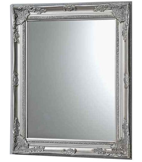 miroir personnalise avec photo miroir mural en bois argent 233 avec moulures wadiga