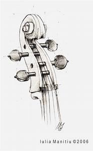 Cello Scroll by lahavana on DeviantArt