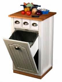 kitchen island with garbage bin trash can pantry cabinet that holds 13 gallon bags click to enlarge house stuff