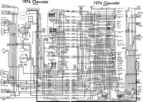 Chevrolet Corvette Complete Electrical Wiring Diagram