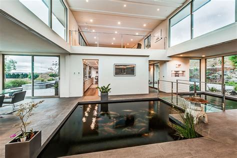 Homes With Indoor Ponds by 30 Interiors That Showcase Design Trends Of Summer 2015
