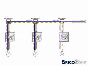 Eclairage Sans Branchement Electrique : cablage circuit d 39 une ligne lectrique de luminaire comment faire plus simpe ~ Melissatoandfro.com Idées de Décoration