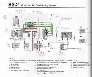 Mercedes Benz W114 Wiring Diagram