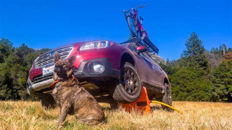 turned  subaru outback   real adventuremobile