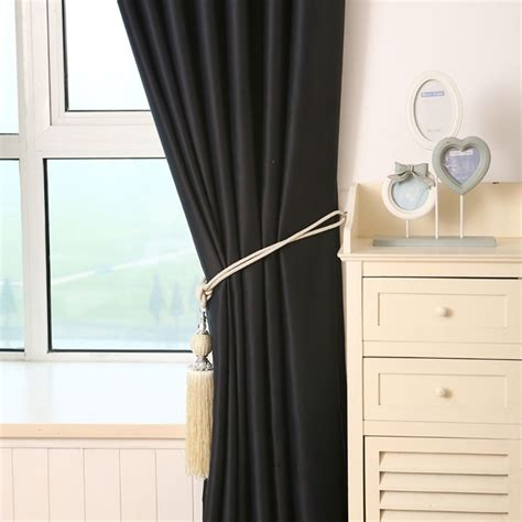 blockout shade cloth tulle drape curtain fabric bedroom