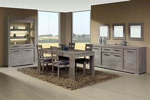 meubles de salle a manger style contemporain moyenne With meuble salle À manger avec table salle a manger design bois