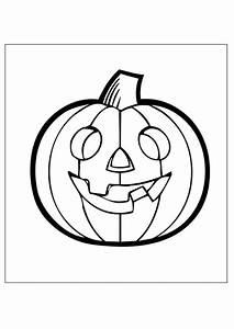 Citrouille Halloween Dessin : coloriage de citrouille pour halloween a imprimer ~ Melissatoandfro.com Idées de Décoration