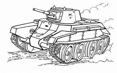 Tank Coloring Pages Tanks