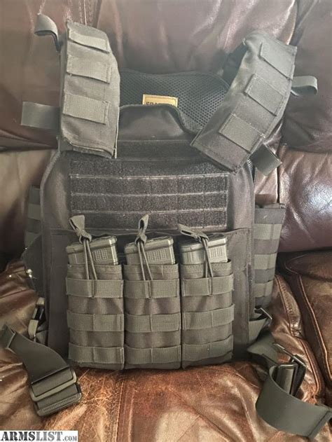armslist  sale spartan armor level iii body armor
