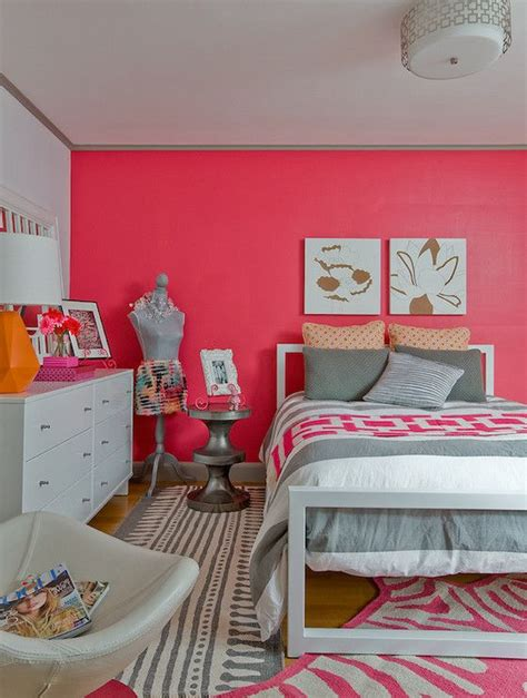 Pink Bedroom For Teenager by Ana Donohue Interiors S Rooms Coral Pink Coral