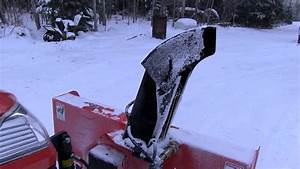 Kubota 2750d Snowblower Motorized Chute Rotation And