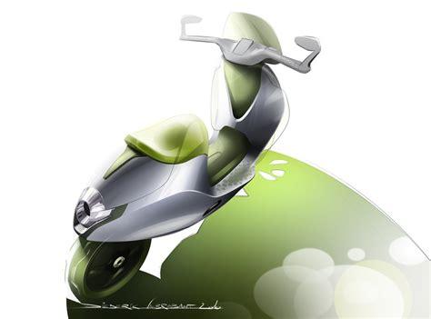 Smart E Scooter Concept Car Body Design