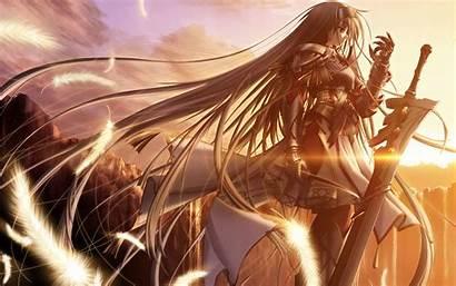Warrior Anime Female Wallpapers