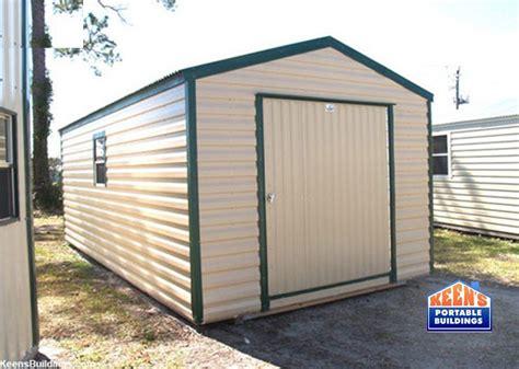 Metal Storage Shed Doors by Metal Sheds Keen S Buildings