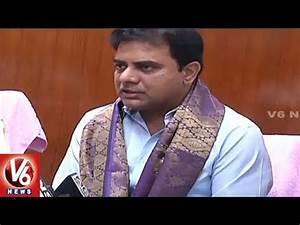 KTR Meets Union Minister Dattatreya | Seeks Hospital For ...