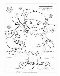 Christmas Tracing Worksheets - Itsy Bitsy Fun  Tracing