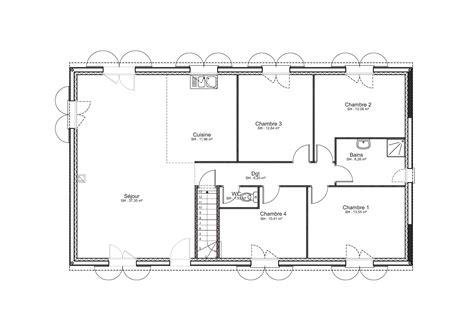 disposition bureau nos plans de maisons de plain pied ou à étage