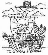 Pirate Coloring Ship Pages Pirates Treasure Caribbean Chest Printable Lego Boat Sheet Adults Colouring Colorings Sheets Getcolorings Drawing Getdrawings Imagination sketch template