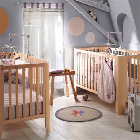 chambre de b b jumeaux idée de déco pour chambre d 39 enfants thème nursery