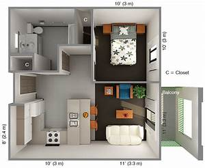 One bedroom home design ppics for One bedroom home design ppics