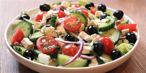 Salada grega - Agenda Guia
