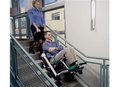 Stryker Evacuation Chair by Ergonomic Harp Bench Images