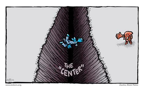 Mike Flugennock: Political Cartoons » centrism