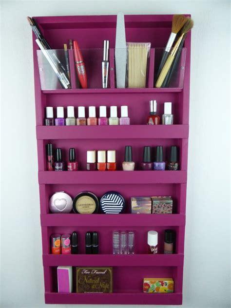 nail polish wall rack ideas  pinterest