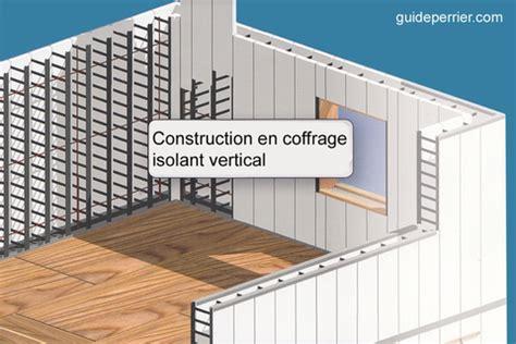 coffrage isolant maisons neuves en b 233 ton isol 233